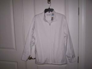 NWT LADIES CALLAWAY GOLF JACKET SIZE XL WIND AND WATER RESISTANT FULL ZIP $80