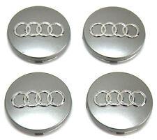 4 X 67mm Nuevo Audi Aleación Centro De Rueda Caps se adapta a/A3/A4/A6/A8/S4/TT