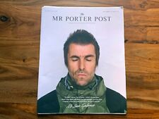 Oasis Liam Gallagher Mr Porter Post Newspaper Large Magazine Harry Styles Gucci
