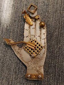 Thomas Mann Techno Romantic Hand Pin/Brooch hard to find