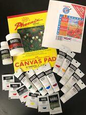 HUGE NEW Acrylic Paint set Painting Bundle Job Lot