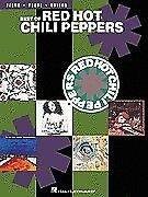 BEST OF RED HOT CHILI PEPPERS PIANO SHEET MUSIC BOOK