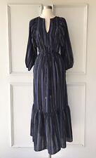 | COUNTRY ROAD | lurex stripe maxi dress navy | NEW | $199 | SIZE: 6,8,10,12 |