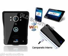 VIDEOCITOFONO a Colori Wi-Fi x Smartphone Iphone Tablet Citofono Apertura Porta