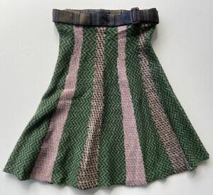 Womens ETRO Milano 100% Wool Skirt Made In Italy Size 40/US 4-6 Beautiful!! EEUC