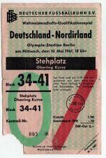 Ticket Germany - Northern Ireland 10.05.1961