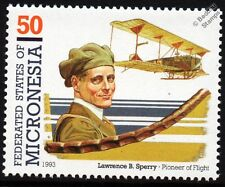 Lawrence B. Sperry & CURTISS SPERRY AERIAL TORPEDO WWI Aircraft Stamp