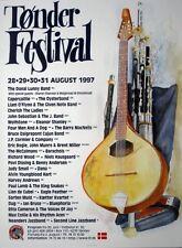 TONDER FESTIVAL - 1997 - Konzertplakat - Donal Lunny Band - Dänemark