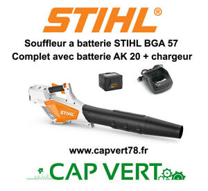 STIHL Souffleur batterie STIHL BGA 57 Complet