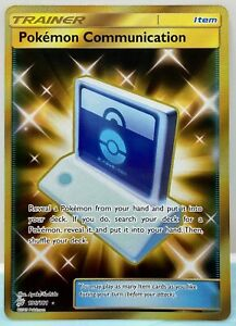Pokemon Communication - 196/181 - Secret Rare Sun & Moon Team Up