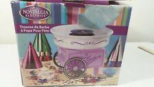 Nostalgia Electrics Counter Top Cotton Candy Machine ~ used CCM305KIT