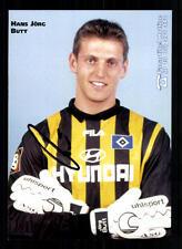 Hans Jörg Butt Autogrammkarte Hamburger SV 1998-99 Original Signiert+A 104977