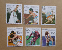 1990 LAOS SET OF 6 OLYMPIC GAMES BARCELONA MINT STAMPS MNH