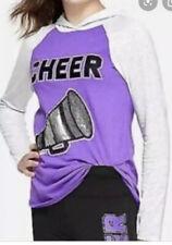 Justice Top Shirt 14/16 Cheer  Flip Sequins Girls New💙💙💙