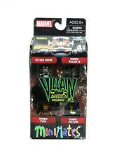 Marvel Minimates Zombies Villains Box Set Series 3 Figures Ultron Pyro Vulture