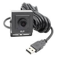 Mini Box 2592x1944 Webcam Video Camera 5MP 180° Fish Eye Lens For Raspberry Pi