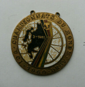 Cycling Medal / Badge 1960 UCI World Championships Germany