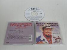 Hank Thompson/ Greatest Songs Volume One ( Curb D2-77734 ) CD Álbum