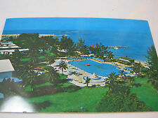 GRAND BAHAMA HOTEL AND COUNTRY CLUB WITH POOL POSTCARD  T*