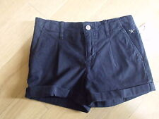 BNWT Designer HACKETT of LONDON Navy Blue Cotton Shorts age 7-8 yrs-FAB