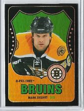 10-11 2010-11 O-PEE-CHEE MARK STUART BLACK RETRO RAINBOW OPC /100 193 BRUINS