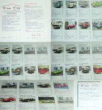 Quartett Siku Museum Audi Museum Oldtimermuseum mit Audi Crayford DKW Treser, VW