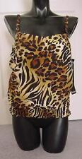 NEW SeXy Animal Print $168 MIRACLESUIT Swimsuit 10 *NWT* 10 lbs Slimmer $100 OFF