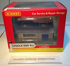 HORNBY LYDDLE END - N8765 - CAR SERVICE & REPAIR GARAGE - RARE ITEM BOXED