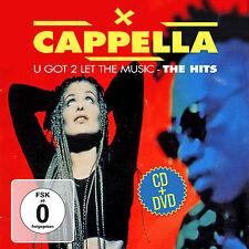 DVD CD Cappella U Got 2 Let the Music-The Hits 2cds + DVD
