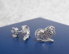 1 Paar Meerschweinchen Ohrstecker  925er  Silber