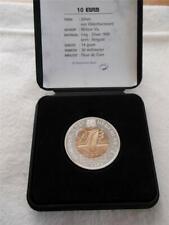 NETHERLANDS 10 EURO 1997   FLEUR DE COIN SILVER/COPPER    X5038