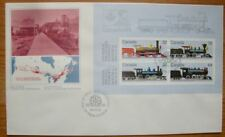 Canadian Locomotives 1860-1905 First day of Issue Cover Canada Post Corporation