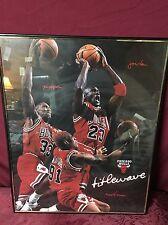 1997 Vintage Chicago Bulls Titlewave 16x20 Framed Poster Jordan Rodman Pippin