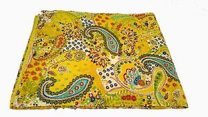 Queen Size Silk  Kantha Quilt Bedding Kantha Blanket Bedspread, Throw