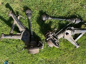 bmw z3 2.8 driveshafts and arms , discs