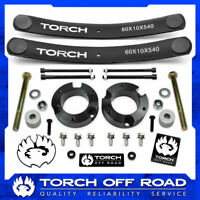 "3"" Lift Kit for 2005-2021 Toyota Tacoma 4X4 4WD w Diff Drop Add A Leaf TRD SR5"