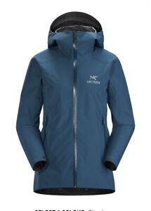 Arcteryx Zeta SL $300 Gore-Tex Women's X-Small XS Jacket Timelapse 27311 NEW