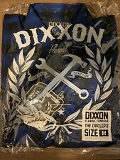NEW DIXXON M MEDIUM MENS CIRCLE PIT FLANNEL NIB SOLD OUT