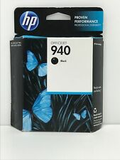 Factory Sealed Package Genuine HP 940 Black Ink Printer Cartridge Jan 2014 Box