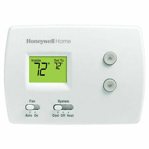 Honeywell TH3110D PRO 3000 Digital Thermostat | Non-programmable | White (NEW)