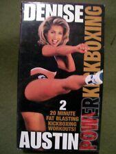 Denise Austin POWER KICKBOXING (1994, VHS)