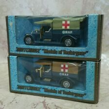 (Set of 2) MODELS OF YESTERYEAR Y13-3.11 and Y13-3.12 1918 CROSSLEY R.A.F.