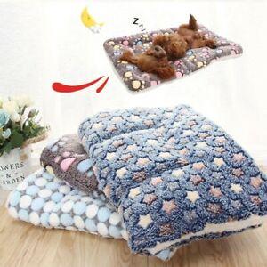 Cute Dog Cat Pet Soft Bed Mat Pillow Cushion Mattress Small Medium Large
