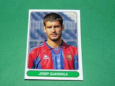 N°65 JOSEP GUARDIOLA PEP FC BARCELONA PANINI EUROPEAN FOOTBALL STARS 1996-1997