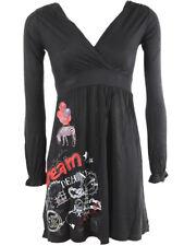"""Brand New Desigual collection Elegant & Stylish dress """"Animalia"""" Black Large"""