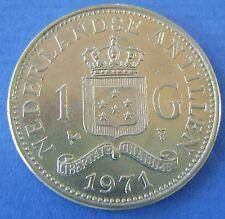 1971 Nederlandse Antillen  -  1 gulden 1971 -  KM# 12 - nice!