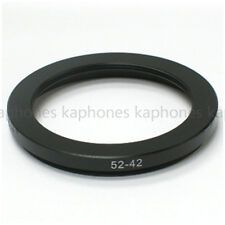52-42mm Step-Down Metal Lens Adapter Filter Ring / 52mm Lens to 42mm Accessory