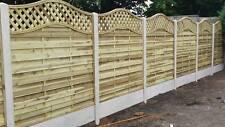 European Omega StMelior Elite Trellis Panel 6ft x 6ft Garden Fence Panel