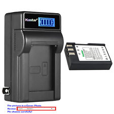 Kastar Battery LCD Wall Charger for EN-EL9 MH-23 & Nikon D60 SLR Digital Camera
