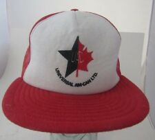 Universal AM CAN Ltd hat snapback trucker Hat UACL Made in USA A14